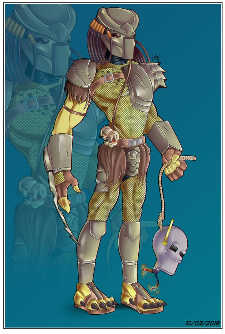 Predator -Fan Art-. by Ferguzt