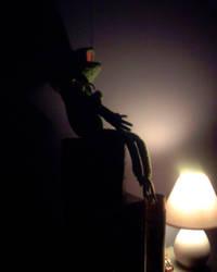Dark Kermit by strutty