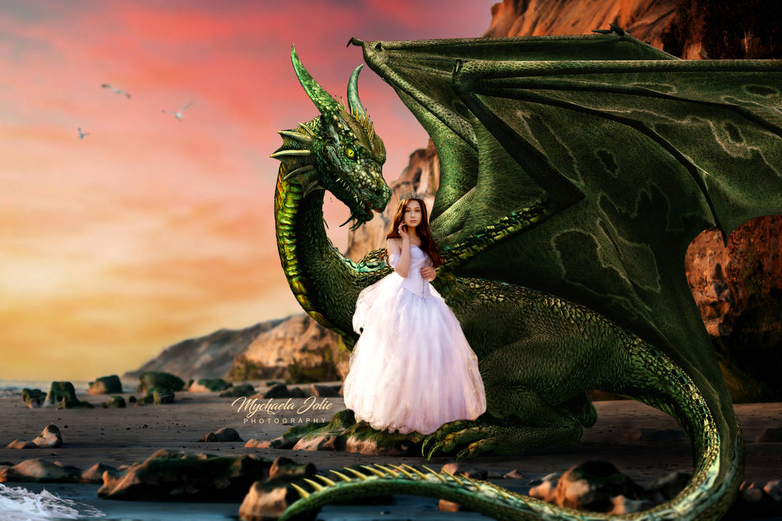 Ariana Rocky Beach Dragon wo light flare