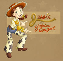 Jessie the Yodelin' Cowgirl by Elera