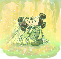 Kissing A Princess by Elera
