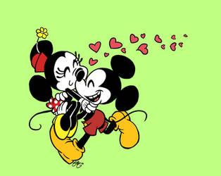 Happy Birthday, Mickey and Minnie! by Elera