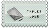 Tablet User -Stamp- by hixdei-love