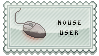 Mouse User -Stamp- by hixdei-love