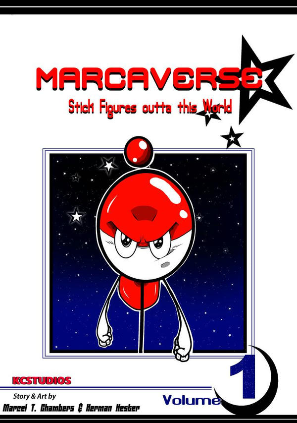 Marcaverse The Manga by marceldraws96