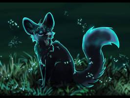 Blue night by Blackwolfpaw