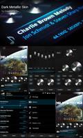 Poweramp Dark Metallic Skin by ikorolkov