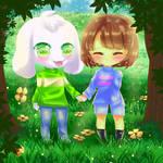 [FA] Frisk and Asriel