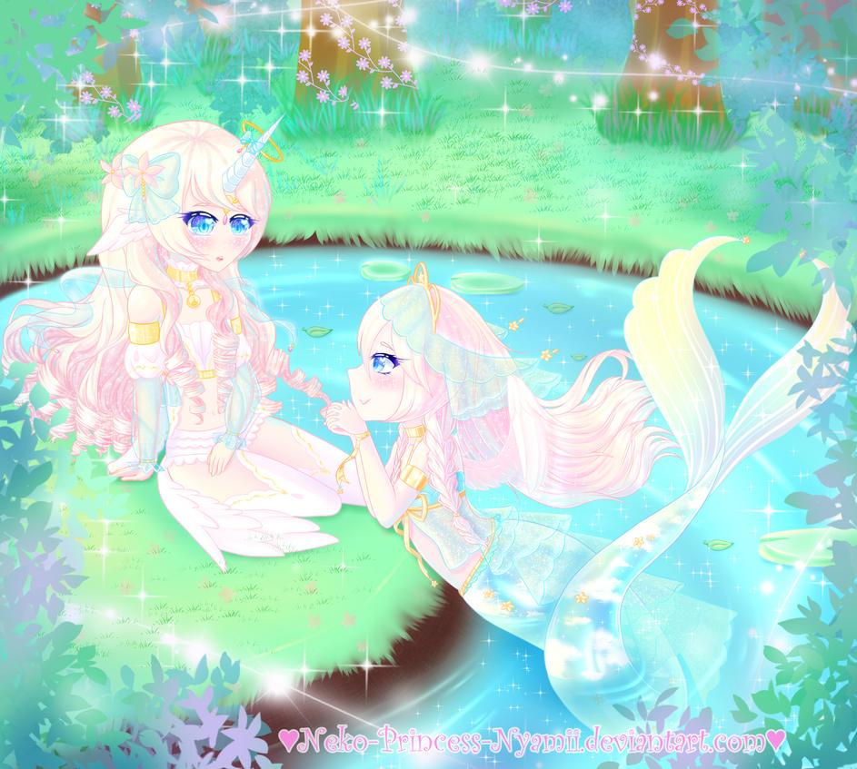 *.+Aurami and Fairy Vial Contest Entry*.+ by Neko-Princess-Nyamii