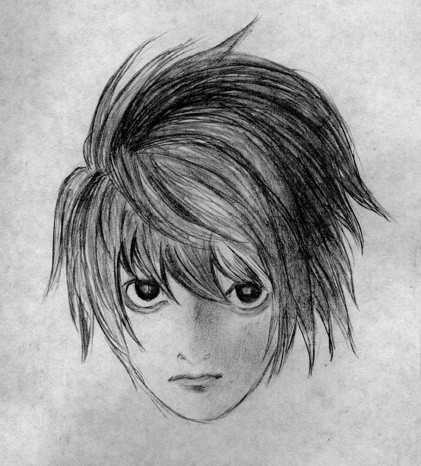 Death Note 720p: L Of Death Note By DamnedCat51 On DeviantArt