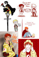 Young Justice Art Dump by xxjust-a-nobodyxx