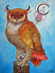 Infinity Owl by 6-uNiCoRn-CrOsSiNg-9