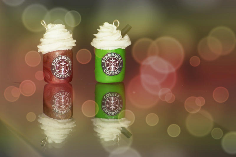 Starbucks charm by snowdroplets