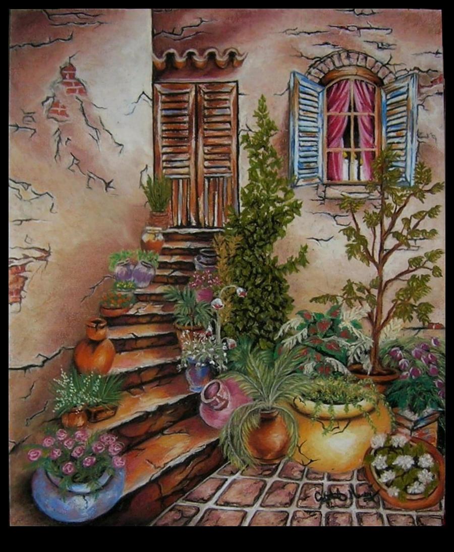 rustic italian garden homemohanirose on deviantart