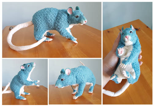 Rat Art Plush