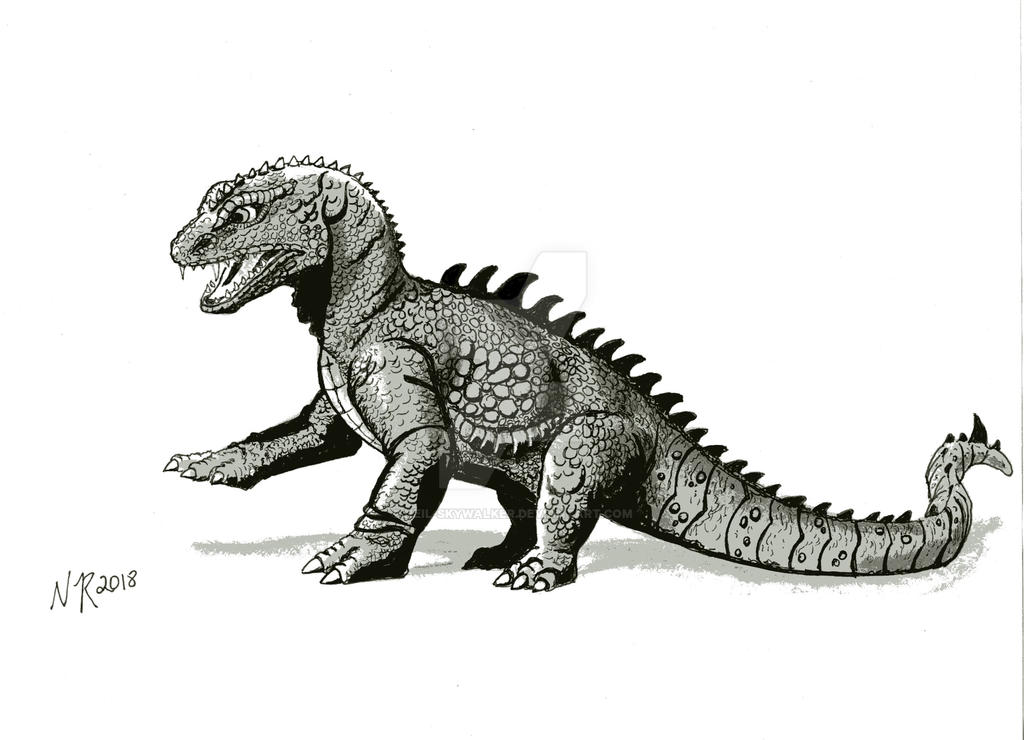 Rhedosaurus 2018 by Neil-Skywalker