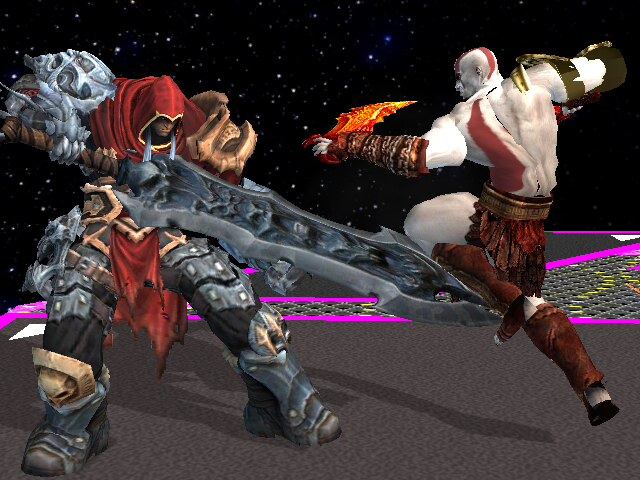 War vs. The God of War by Gnorcteen
