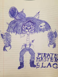 Pirate Master Slag by Gnorcteen