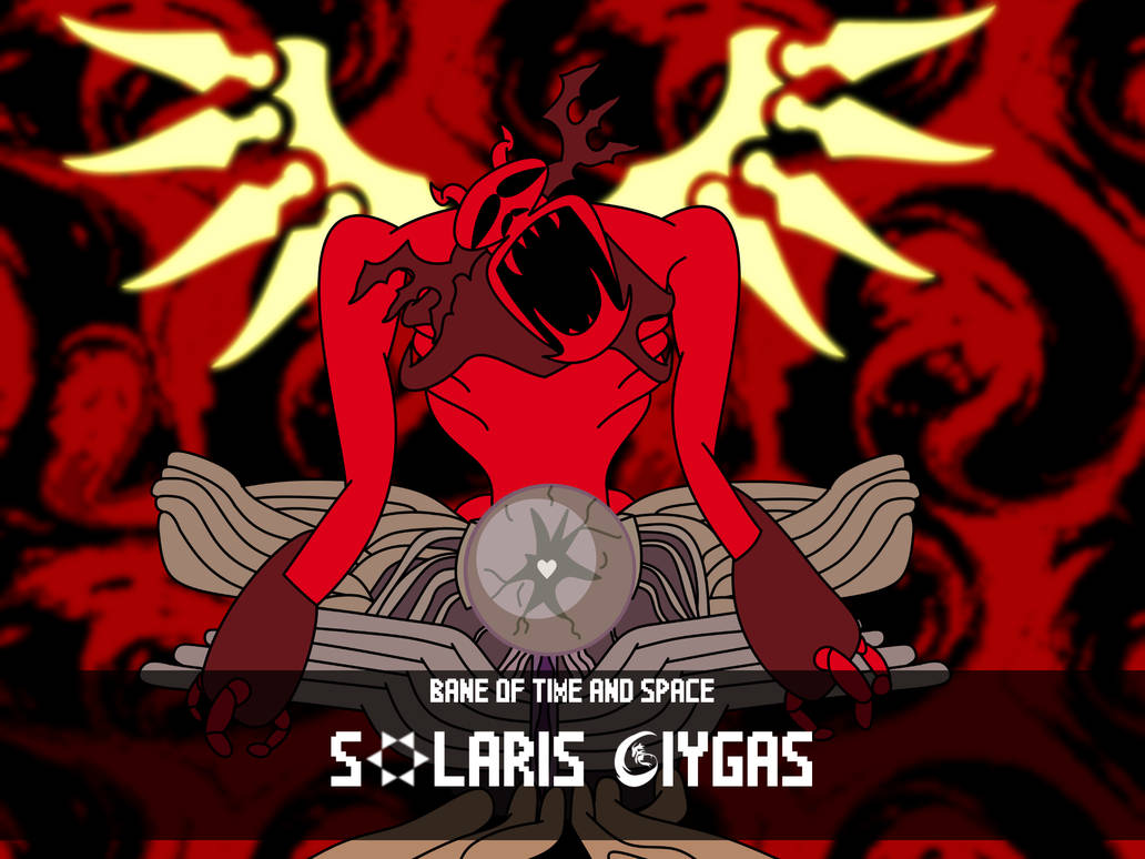 Solaris Giygas (Colored) by Gnorcteen