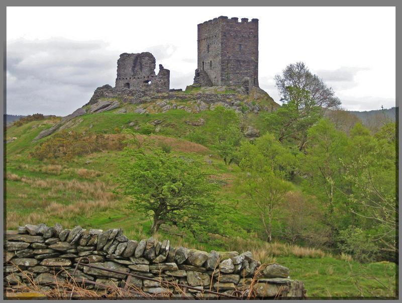 Castle in Wales by Rebacan