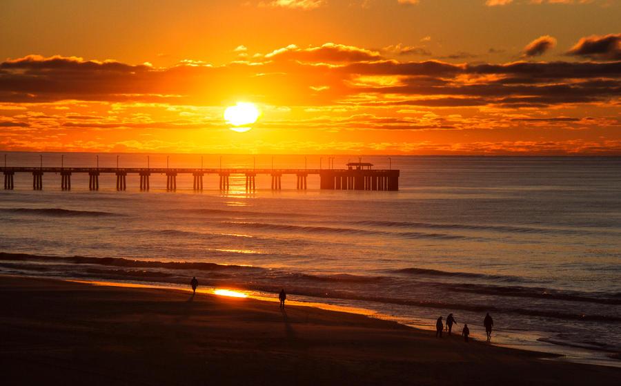 Sunrise on the Alabama Coast by Rebacan