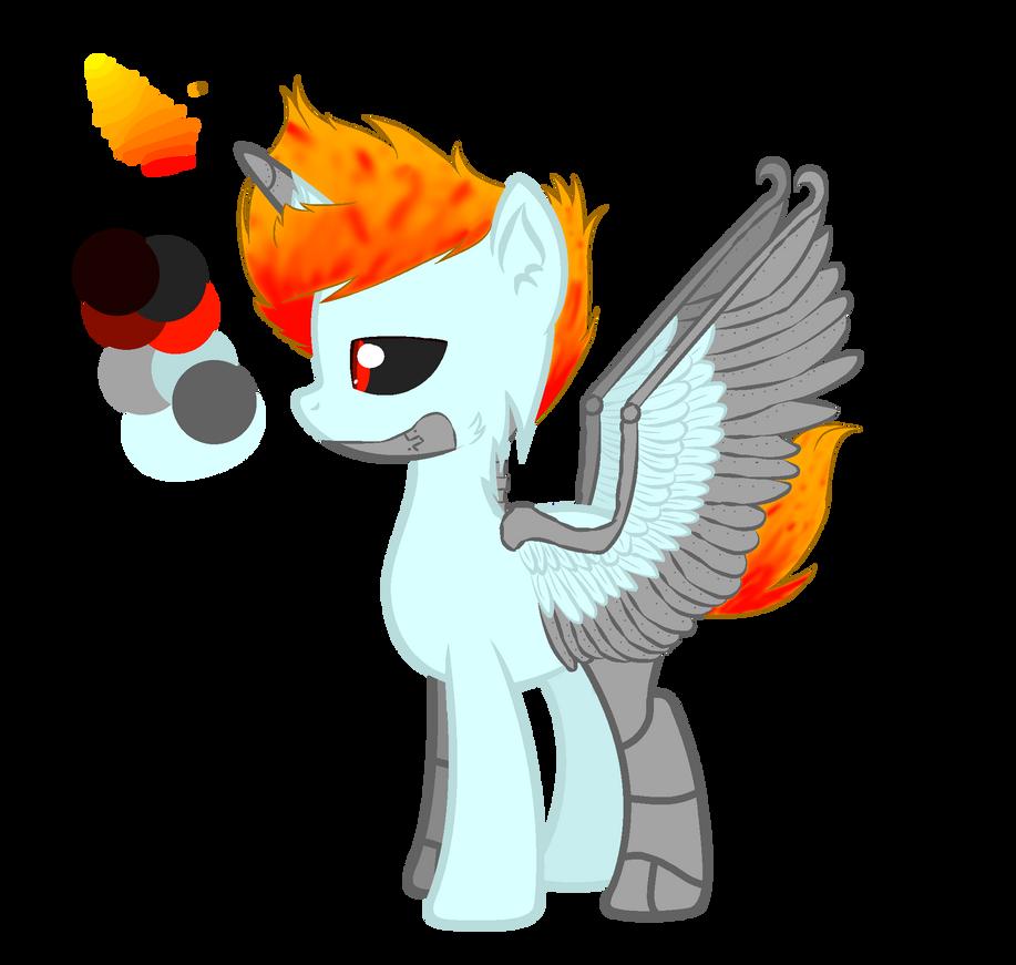 Robo as a pony guide by XxSmileDogxXYdra