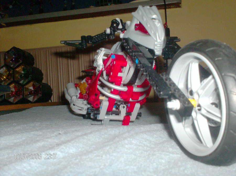 Ghost Riders Bike Lego By Her00frand0m On Deviantart