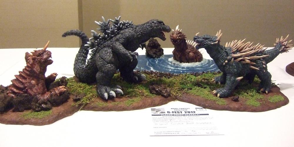 Anguirus Concept Art Godzilla Anguir...