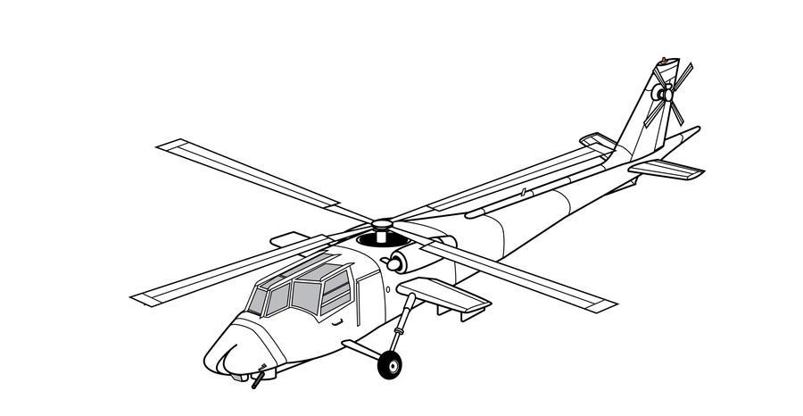Plan Boeing AAH by alanqua