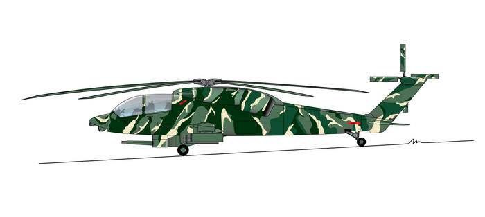 Sikorsky S-71 profile for AAH