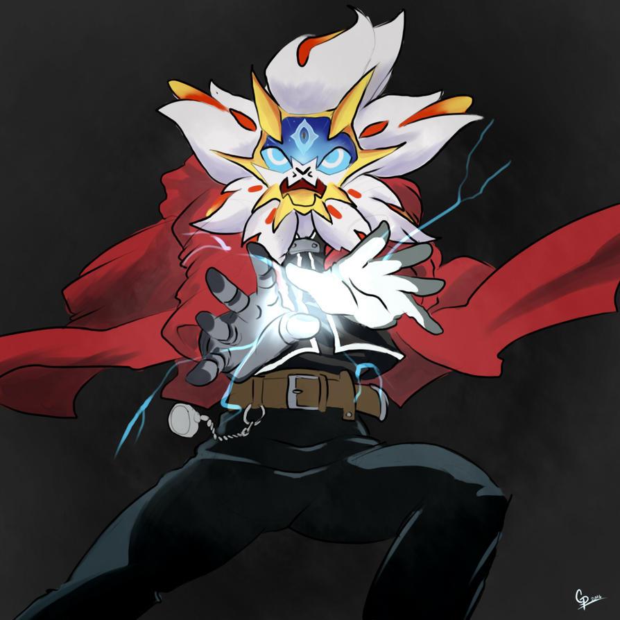 Fullmetal solgaleo pokemon x fullmetal alchemist by - Solgaleo wallpaper ...