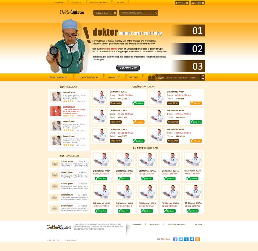 doktorbul web arayuz calismasi by mod48