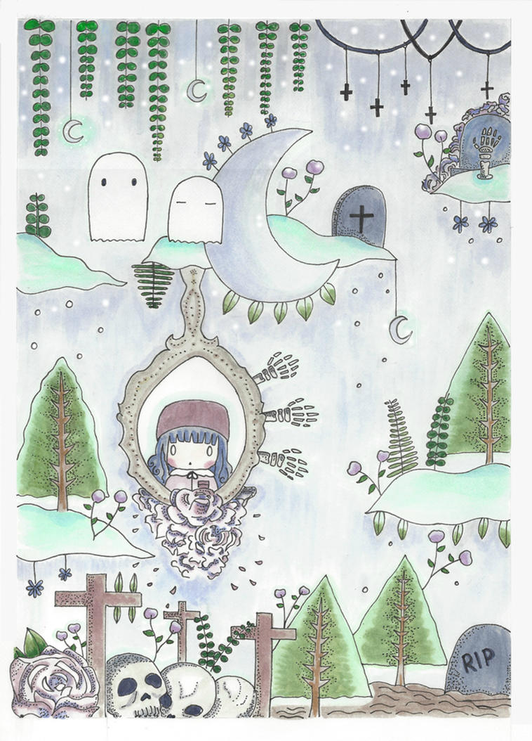 Forest Ghost by sweetyrose