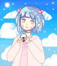 Onigiri pixel (original version) by sweetyrose