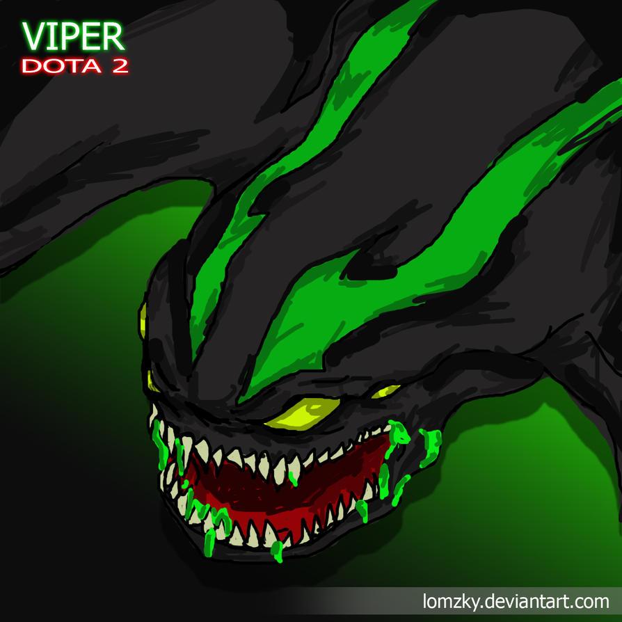 viper dota 2 by lomzky on deviantart