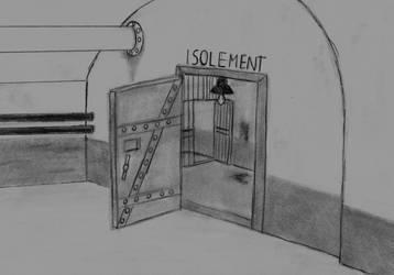 Goretober Day 9: Isolation by CartoonBattalion