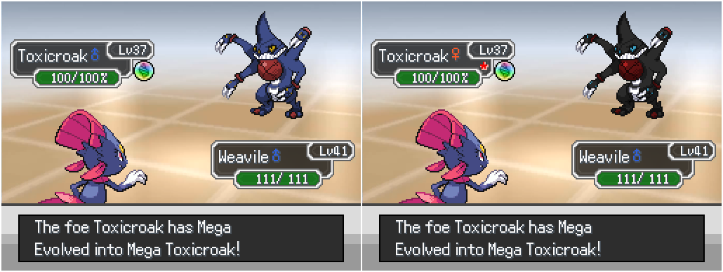 Welcome the megas toxicroak by rayd12smitty on deviantart
