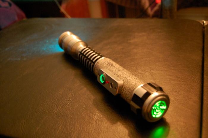 Captivating Custom Lightsaber By Jonsparrow ...