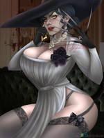 Lady Dimitrescu by Arilynluna