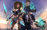 [Commission] World of warcraft for Julien by Arilynluna