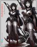 Dark elf adoptable [SOLD] by Arilynluna