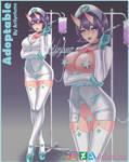 Demon nurse adoptable [SOLD] by Arilynluna