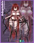 Aracne adoptable [SOLD] by Arilynluna