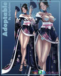 Geisha adoptable [SOLD] by Arilynluna