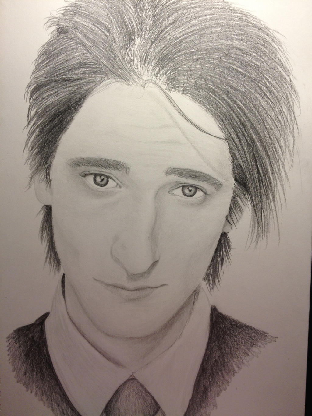 Adrien Brody by Red-Drawing-Feather on deviantART Adrien Brody Art
