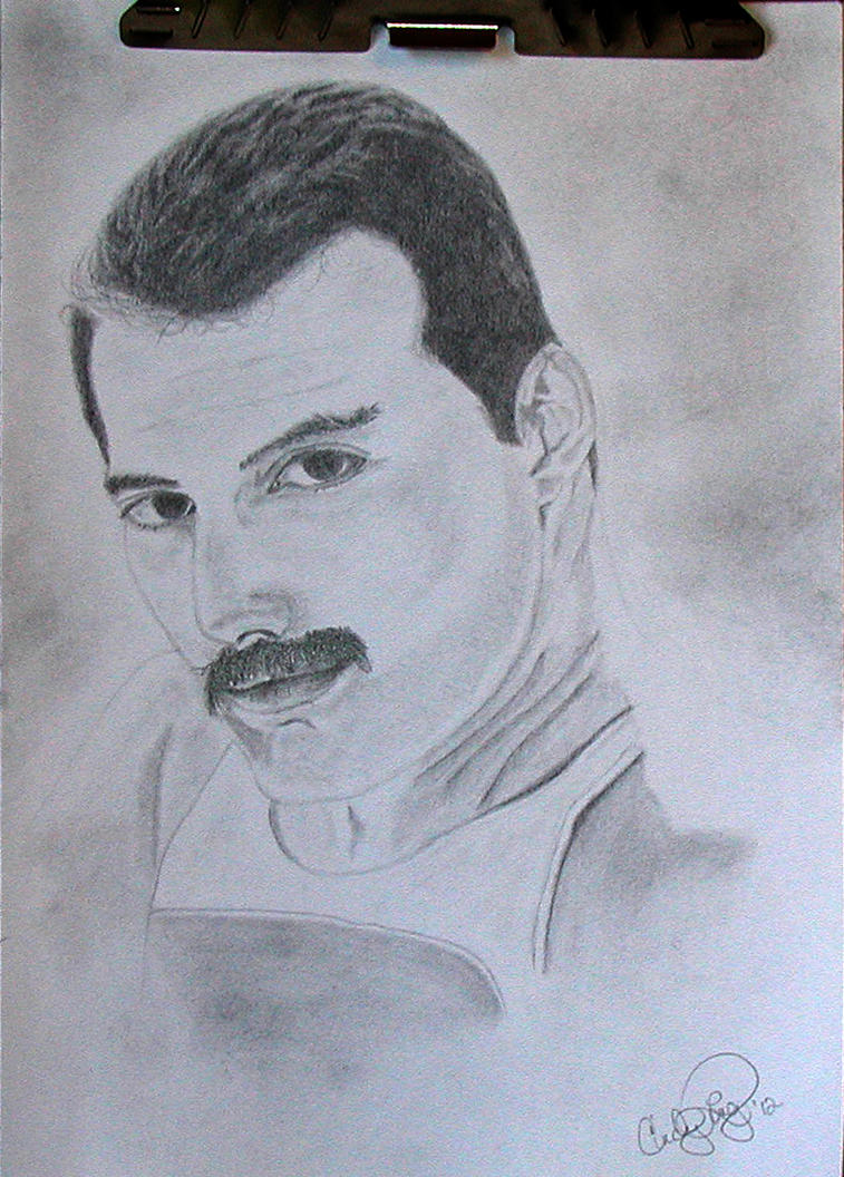 Freddie Practice Finished by msfreddiemercury