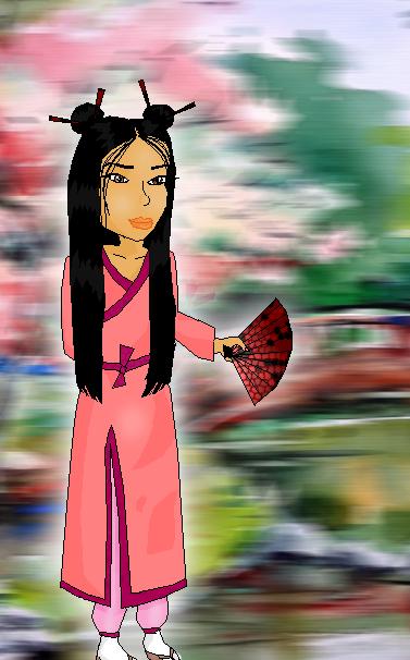 random-asian-girl