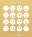 Money Emoticons Icons (Volume 2) by Shapes4FREE