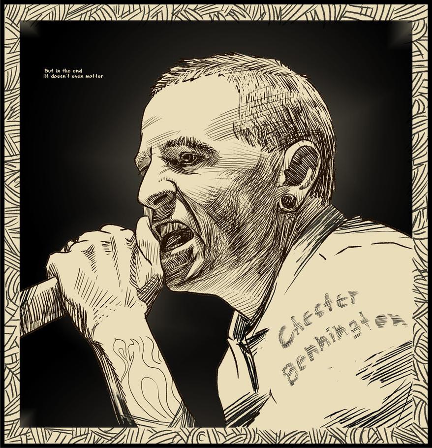 Chester Bennington By Batuev On DeviantArt