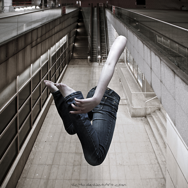 Urban Solitude by Vic4U